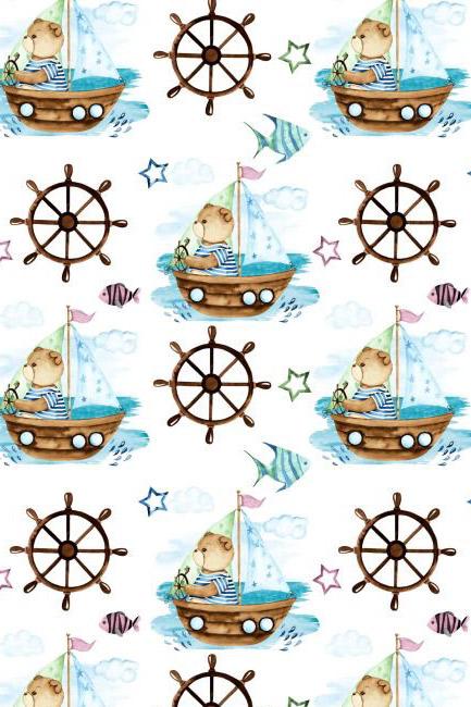 Miś w łódce
