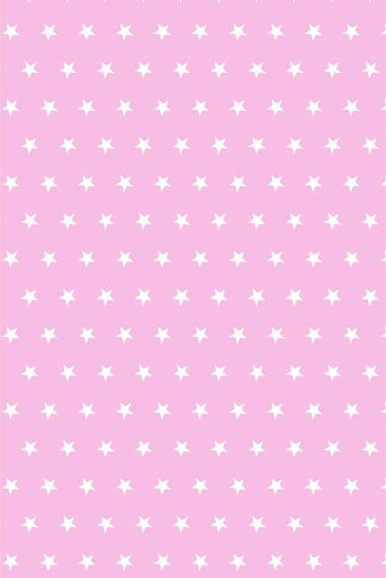 Gwiazdki białe na różu