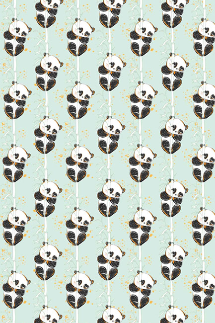 Panda na bambusie