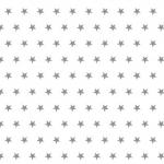 Gwiazdki szary na białym