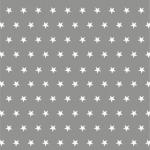 Gwiazdki biały na szarym
