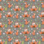 Liski w lesie