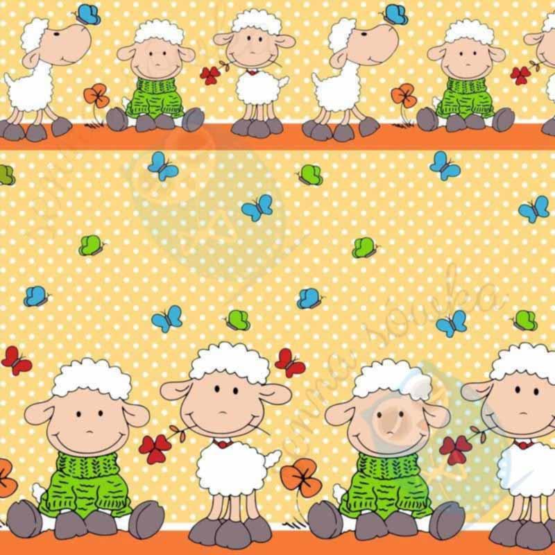 Owieczki pomarańcz