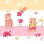 Ogrodnicy różowy