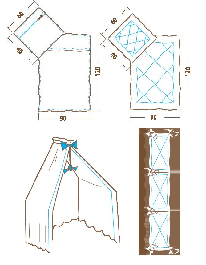 Komplet-poscieli-120×90-6-elementowy-ochraniacz-180-cm