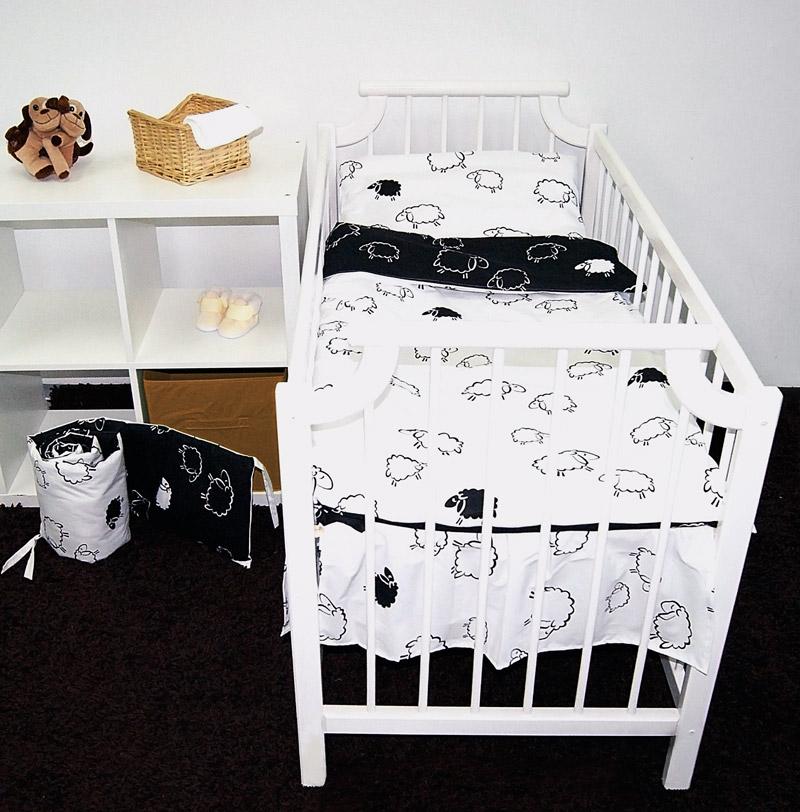 zestaw trzyelementowy pościel dziecięca i ochraniacz