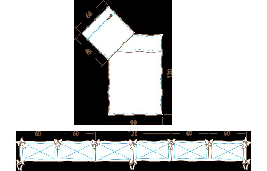 posciel-90x120-3-elemnty-360-ochraniacz