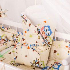 łóżeczko z rożkiem