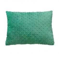 Minky poduszka miętowy