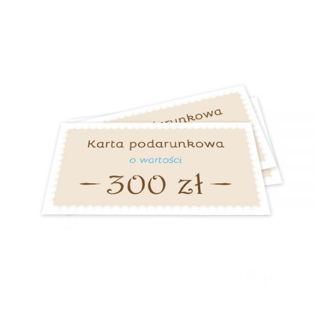 karta podarunkowa 300